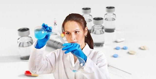 Vaccine Chemist Syringe Ampoule